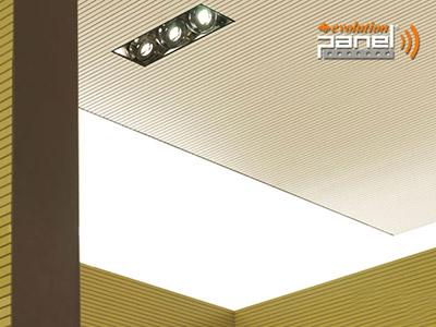 Acoustic MDF ceiling Panels VIRAG.