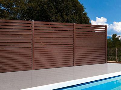 Composite Fencing Systems TERRAFINA.