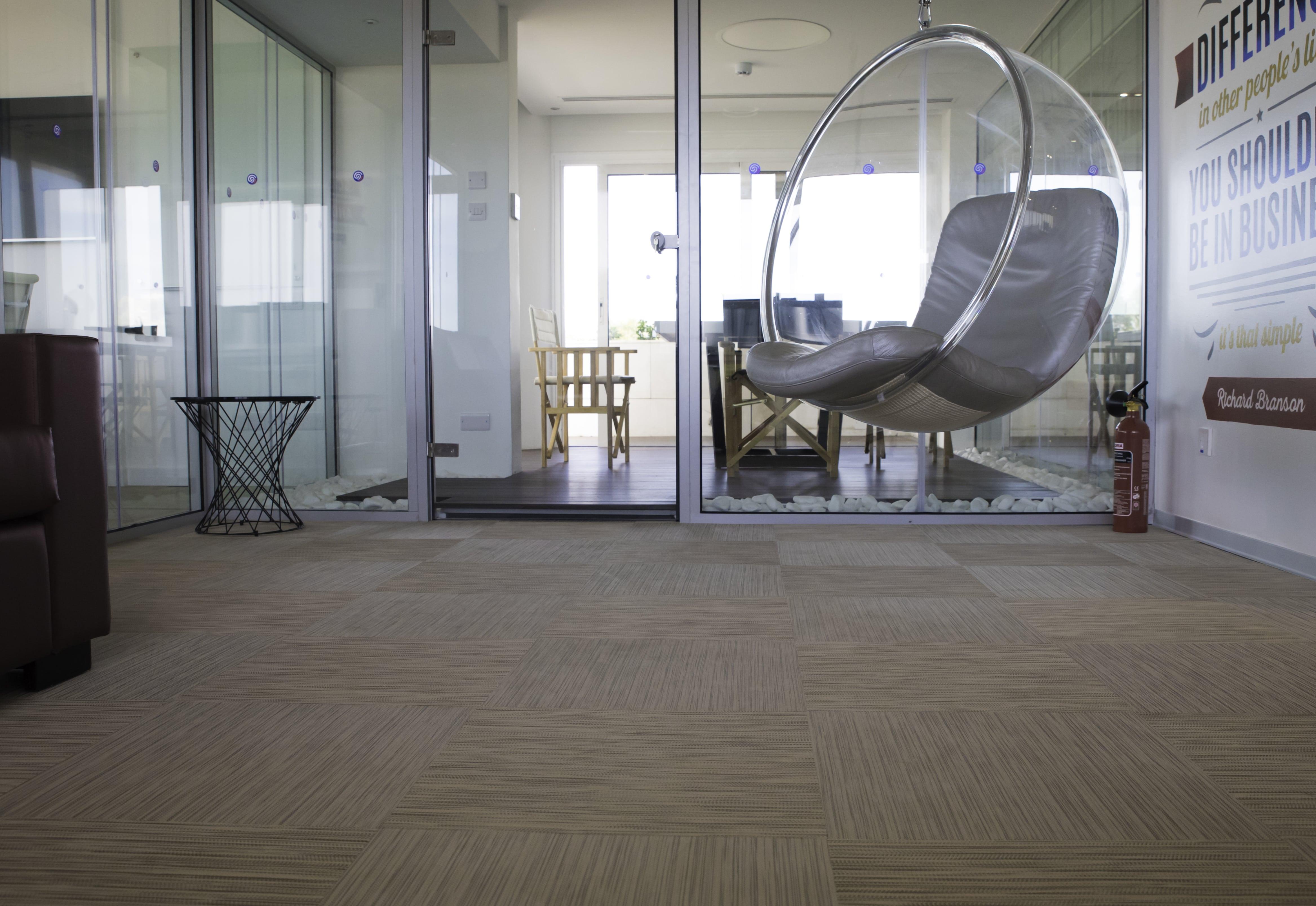 Supply fitting of dickson woven vinyl flooring